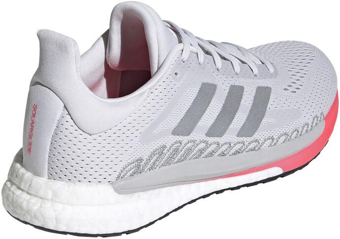 adidas Solar Glide 3 Chaussures Femme, dash grey/silver metal/signal pink
